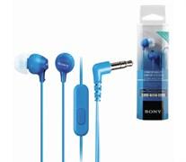 (1024569) Гарнитура вкладыши Sony MDR-EX15AP 1.2м голубой проводные (MDREX15APLI.CE7)