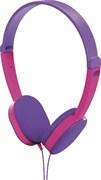 (1024561) Наушники накладные Hama Kids 1.2м фиолетовый/розовый проводные (00177014)