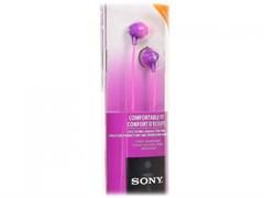 (1024565) Наушники вкладыши Sony MDR-EX15LP 1.2м фиолетовый проводные (MDREX15LPV.AE)