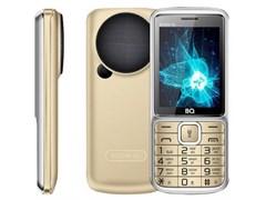 """(1024622) Мобильный телефон BQ-2810 BOOM XL Золотой MTK 6261D, 1, 208MHZ, 32 MB, 32 MB, 2G GSM 900/1800 мГц, Bluetooth Версия 2.1 Экран: 2.8 """", 240*320, Основная камера: 0.3 MP, инт. отсутствует, FF, 1, Пластик Фронтальная камера: , Кол-во СИМ: 2, Mi"""