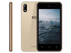 "(1024626) Смартфон BQ-4030G Nice Mini Золото SC7731E, 4, 1.3 GHZ, Android 10 Go, 1 GB, 16 GB, 2G GSM 850/900/1800/1900, 3G 3G WCDMA 900/2100MГц, WiFi IEEE 802.11 b/g/n, Bluetooth Версия 4.2, GPS GPS, A-GPS, Глонасс Экран: 3.97"", 5:3, 800*480, TN, сте"