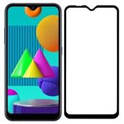 (1024611) Стекло защитное Full Glue Premium Krutoff для Samsung Galaxy A72 черное