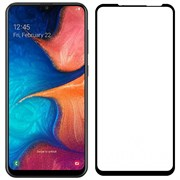 (1024610) Стекло защитное Full Glue Premium Krutoff для Samsung Galaxy A52 черное