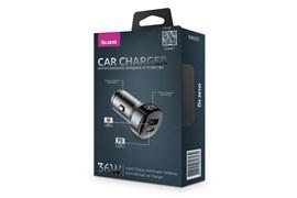 (1023459) Зарядное устройство для авто 36W QC3.0 83832 DEFENDER