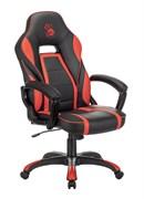 (1023855) Кресло игровое A4Tech Bloody GC-350 черный/красный эко.кожа крестовина