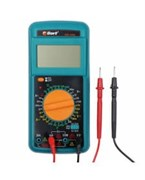 (1024972) Bort BMM-1000N Мультиметр [91271143] { Диапазон постоянного напряжения 0-1000 тип, диапазон  постоянного тока 0-20 тип, диапазон  переменного напряжения 0-750 тип, 0.3 кг, набор акс 4 шт }
