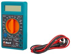 (1024973) Bort BMM-600N Мультиметр [91271167] { Диапазон постоянного напряжения 0-1000 тип, диапазон  постоянного тока 0-10 тип, диапазон  переменного напряжения 0-750 тип, 0.1 кг }