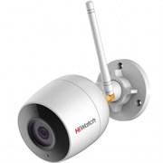 (1021302) Видеокамера IP Hikvision HiWatch DS-I214W(B)(4mm) 4-4мм цветная корп.:белый