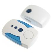 (1020424) Беспроводной дверной звонок LuazON LZDV-23 со вставками по бокам, микс, от 2 батареек АА 2861610