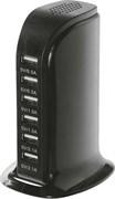 (1024923) Настольное зар./устр. Redline NT-7 6A универсальное черный (УТ000018571)