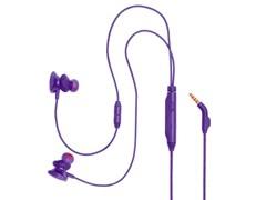 (1025028) Наушники с микрофоном JBL Quantum 50 фиолетовый 1м вкладыши в ушной раковине (JBLQUANTUM50PUR)