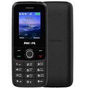 """(1025051) Мобильный телефон Philips Xenium E117 32Mb темно-серый 2Sim 1.77"""" TFT 128x160 867000172034"""