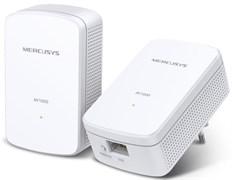 (1025201) Сетевой адаптер Powerline Mercusys MP500 KIT Gigabit Ethernet (упак.:2шт)