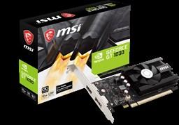 (1025527) Видеокарта MSI PCI-E GT 1030 2GD4 LP OC NV GT1030 2048Mb 64b DDR4 1189/2100/HDMIx1/DPx1/HDCP Ret low