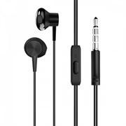 (1025542) Гарнитура CROWN CME-251 black (металлические раковины с магнитом, круглый шнур 1,2м, динамики 10мм, чувствительность 104Дб, импеданс 32Ом, микрофон, штекер 3,5мм)