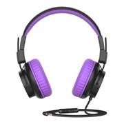 (1025563) Наушники Gorsun GS-E92V (purple) с микрофоном