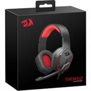 (1025582) Игровая гарнитура Themis 2 красный + черный, кабель 2 м Redragon