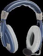 (1025585) Компьютерная гарнитура Defender Gryphon 750 синий, кабель 2 м