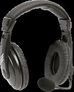 (1025586) Компьютерная гарнитура Defender Gryphon 750 черный, кабель 2 м