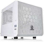 (1025597) Корпус Thermaltake Core V1 Snow белый без БП miniITX 1x200mm 2xUSB3.0 audio bott PSU CA-1B8-00S6WN-01