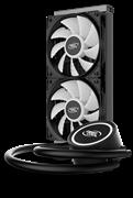 (1025598) Устройство охлаждения(кулер) Deepcool Watercooler GAMMAXX L240T WHITE Soc-AM4/AM3+/1150/1151/1200/20 GAMMAXXL240TWHITE