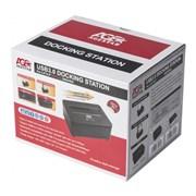 "(1025601) Док-станция для HDD AgeStar 3UBT7 SATA III пластик/алюминий серебристый 2.5""/3.5"""