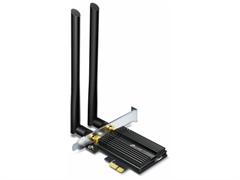 (1025602) Сетевой адаптер WiFi + Bluetooth TP-Link Archer TX50E AX3000 PCI Express (ант.внеш.несъем.) 2ант. ARCHER TX50E