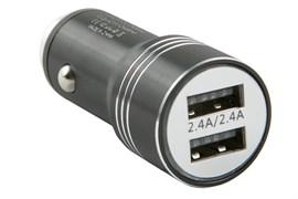 (1025607) Автомобильное зар./устр. Redline AC-5 2.4A черный (УТ000016521)