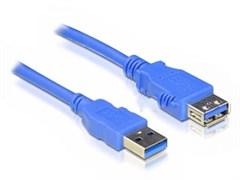 (1025694) Кабель удлинитель 5bites UC3011-005F USB3.0 / AM-AF / 0.5M