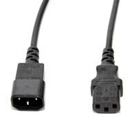 (1025709) Кабель питания 5bites PC107-10A IEC-320-C13 / IEC-320-C14 / 220V / 3G*0.75MM / 1M