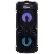(1025671) Минисистема Hyundai H-MC150 черный 50Вт/FM/USB/BT/SD/MMC