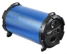 (1025675) Колонка порт. Hyundai H-PAC240 синий/черный 16W 1.0 BT/3.5Jack/USB