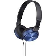 (1025666) Наушники накладные Sony MDR-ZX310 1.2м синий проводные (MDRZX310L.AE)