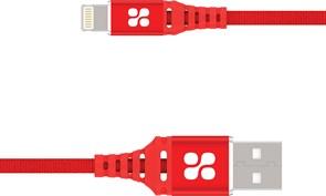 (1022032) USB кабель Lightning Promate VigoRay-i (1.2m) red