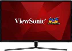 "(1025764) Монитор LCD ViewSonic 23.6"" VX2458-C-MHD Black-Silver {VA Curved 1920x1080 1ms 144hz 178/178 280cd 3000:1 DVI-D HDMI DisplayPort AudioOut}"