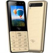 (1025769) Телефон сотовый Itel it5250 Champagne Gold, 2.4'' 320x240, 64MB RAM, 64MB, up to 32GB flash, 1.3Mpix/1,3 МП, 2 Sim, GSM 900/1800, BT v2.1, FM, Micro-USB, ОС Mocor , Java, 1900 мАч, 125 ммx54 ммx11,3 мм