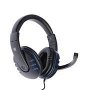 (1019705) Гарнитура GAMING WARHEAD G-160 BLACK/BLUE 64118 DEFENDER