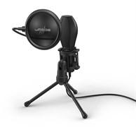 (1025208) Микрофон проводной Hama Stream 400 Plus 2м черный 00186018