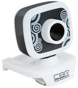 (1019355) CBR Веб-камера CW-835M Black, универс. крепление, 4 линзы, 1,3 МП, эффекты, микрофон
