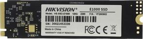 (1026253) Твердотельный накопитель SSD M.2 HIKVision 512GB E1000 Series <HS-SSD-E1000/512G> (PCI-E 3.0 x4, up to 2000/1610MBs, 3D TLC, NVMe, 22x80mm)