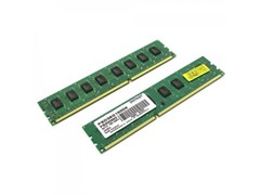 (1026260) Модуль памяти DDR 3 DIMM 8Gb (4Gbx2) PC12800, 1600Mhz, PATRIOT Signature (PSD38G1600K) (retail)