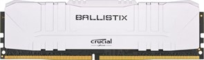 (1026261) Память DDR 4 DIMM 16Gb PC24000, 3000Mhz, Crucial Ballistix White (BL16G30C15U4W)