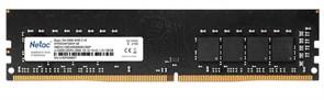 (1026264) Модуль памяти DDR 4 DIMM 4Gb PC21300, 2666Mhz, Netac NTBSD4P26SP-04   C19