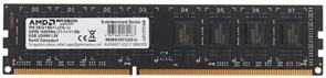 (1026285) Память DDR3 8Gb 1600MHz AMD R538G1601U2SL-U RTL PC3-12800 CL11 LONG DIMM 240-pin 1.35В