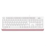(1026420) Клавиатура A4Tech Fstyler FK10 белый/розовый USB FK10 PINK
