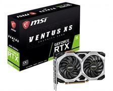 (1026450) Видеокарта MSI PCI-E RTX 2060 VENTUS OC RU NV RTX2060 6144Mb 192 GDDR6 1710/14000/HDMIx1/DPx3/HDCP R