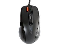 (1026458) Мышь A4Tech X-718BK черный оптическая (3000dpi) USB (6but) X-718BK USB