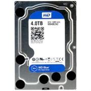 "(1026487) Жесткий диск WD Original SATA-III 4Tb WD40EZAZ Blue (5400rpm) 256Mb 3.5"""
