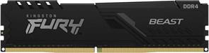 (1026499) Модуль памяти DDR 4 DIMM 8Gb PC21300, 2666Mhz, Kingston FURY Beast Black CL16 (KF426C16BB/8) (retail)