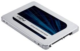 """(1026509) Твердотельный накопитель SSD 2.5"""" Crucial 1.0Tb MX500 <CT1000MX500SSD1> (SATA3, up to 560/510MBs, 3D TLC, SM2258, 360TBW, 7mm)"""